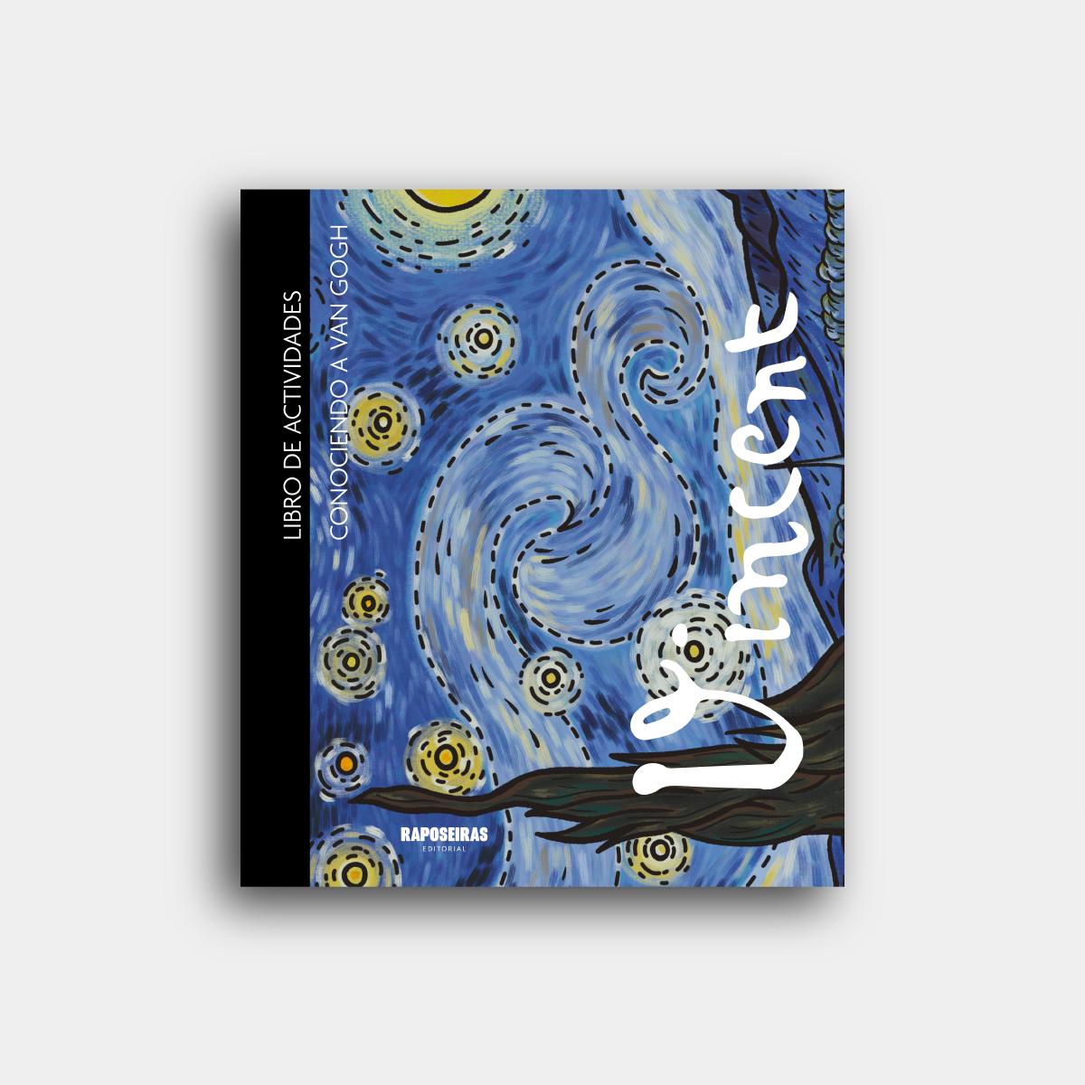 Libro colorear Van Gogh
