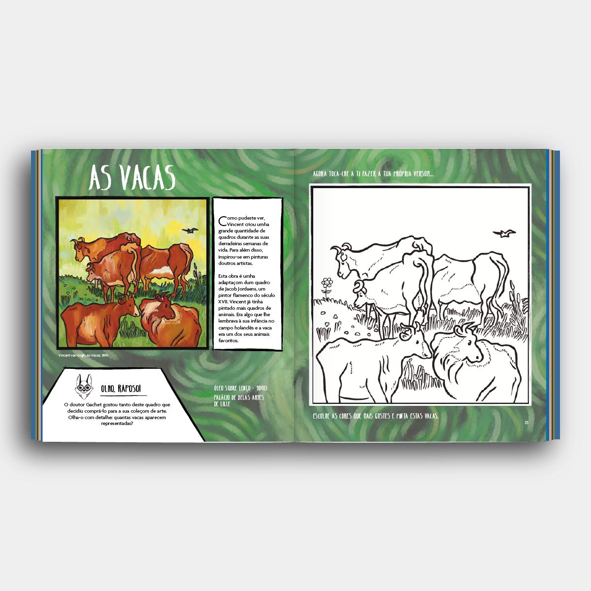 Livro colorear Van Gogh